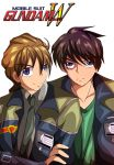 Duo Maxwell and Heero Yuy by SECONDARY-TARGET