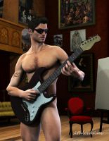 Sith's Studio 2-Alonso Rock Star by sithlordsims