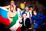 Hetalia Cosplay Team by x-Alone
