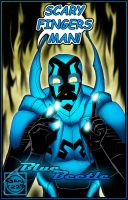 Blue Beetle - Magic Fingers by What-the-Gaff