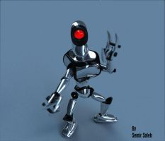 Little Robot by crazy-horse