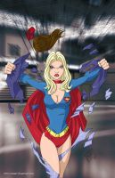 Supergirl ready 2 commission by mhunt