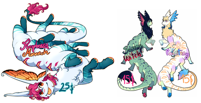 Candipede adopts by Arleedraw