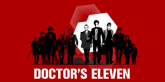 Doctor's Eleven Print by Magmakensuke