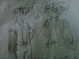 zeke and andy(dreamer45) in generator rex version by sunsetlovesarii23
