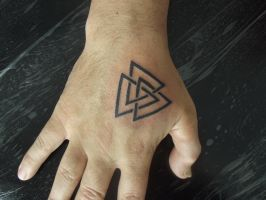 Valknut by Juliano-Pereira