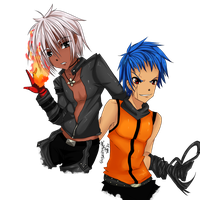 [KOF] K9999 and K Dash by nekoslipknot
