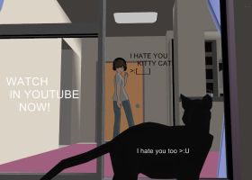 new mmd I HATE YOU KITTY CAT by hadafifi