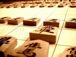 Sepia Shogi Wallpaper by RoyceVergas