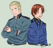 Germany and Italy by Cami-DV