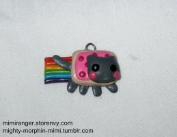 Nyan Cat Charm by Mighty-Morphin-Mimi