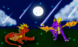 Spyro Request by xX-Starduster-Xx