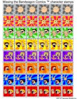 MTBWC postage stamps by Zoolon
