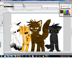 WIP Warrior Cats MEP by Chiiboo