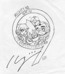 Thank You Inafune (Signed by Keiji Inafune) by AnotherRandomMegaMan