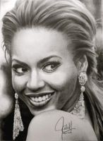 Beyonce Portrait by ParaguayDraw