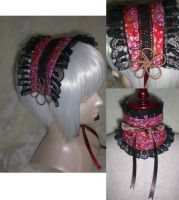 Gothic lolita headdress 1 by Dolly-chan