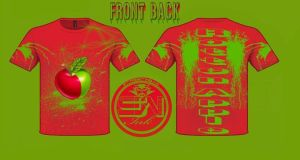 Rotten Apple t-shirt design by StreetWearinc