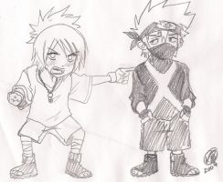 Kakashi and Anko 3 by KickBass77