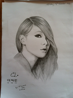 2NE1 CL by AsianGangSign
