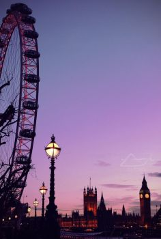 London Twilight by IHaveSeenTheRain