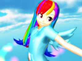 [MMD] Flying by amandabs28