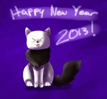 APH: Happy New Year 2013! by Field-Of-Roses