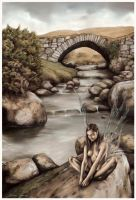 Poison Glen River Faerie by garybonner