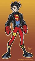 Superboy Reign of the Supermen by ToddNauck