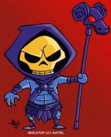 SD Skeletor by tyrannus