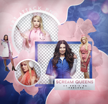 +Scream Queens Pack Png. by Heart-Attack-Png