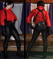 ada wong cosplay resident evil 6 collage 2 by danycamaleon