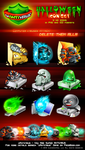 Halloween Icon Set uAntivirus by GucalovPavel
