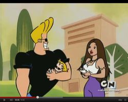 Ferbnessa in Johnny Bravo by toongrowner
