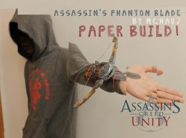 Phantom Blade the paper build by me by twitte0king