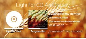 Light CD Art Display Skin by Fi3uR
