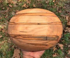 ambrosia maple bowl oiled sun B by lamorth-the-seeker