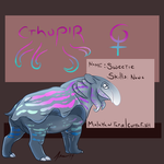 Monster Makers Tapirthulu by Clementiny