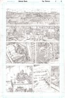 The Pariah - Page1 - Pencils by The-Real-NComics