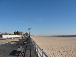 Coney Island Perspective by TheButterfly