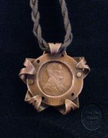 Penny Pendant by ajazzydancer