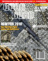 Gear Head Magazine Concept Cover by CoreyBrown