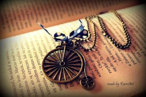 Pendant for Milord bicycle by KaoriArt