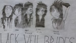 Black Veil Brides by ValentineDel