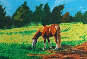 Concentration Piece 6: Autumn Pastures by knsmith0110