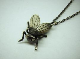 New Black Fly pendant by EYERUS