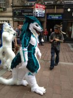ShineyFighter Sergal Suit. by ShineyFighter