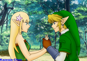 Lire and Link - GC and LoZ by Victoriaiso
