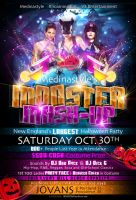 Monster Mash-Up Flyer by AnotherBcreation