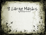 Large Masks no.2 by big-rock-show